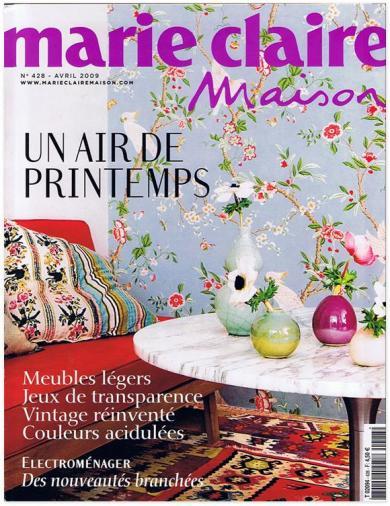 marie claire maison revista forcadelldecoracion. Black Bedroom Furniture Sets. Home Design Ideas